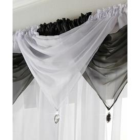 image-Avery 56cm Curtain Pelmet Willa Arlo Interiors Colour: White