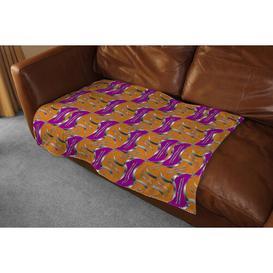 image-Geo Metalic Shapes Blanket