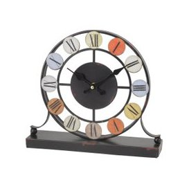 image-Libra Smarty Iron Mantel Clock