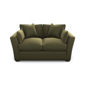 image-Aldeburgh Sofabed 2.5 Seater Sofabed in Clever Glossy Velvet- Sherwood