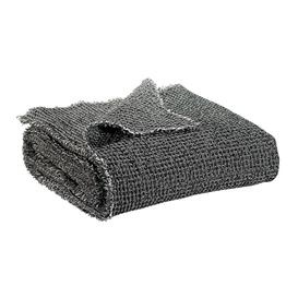 image-Vivaraise - Maia Chambray Throw - Carbon
