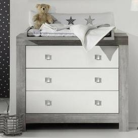 image-Nordic Driftwood Changing Table Schardt