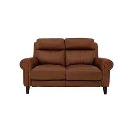 image-Relax Station Easy 2 Seater Leather Power Recliner Sofa with Power Headrests- World of Leather