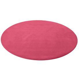 image-Round play mat HUGO, ├ÿ4000 mm, pink