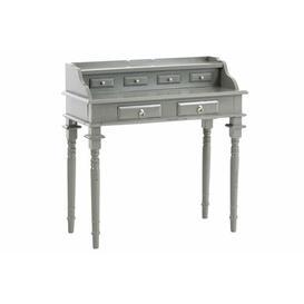 image-Forbis Secretary Desk Mercury Row Colour: Antique grey