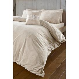 image-Cosy Teddy Fleece Duvet Set