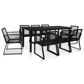 image-Lee 8 Seater Dining Set Dakota Fields