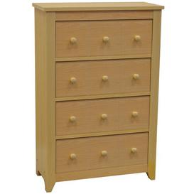 image-CD / DVD / Drawer Media Cabinet Brambly Cottage Colour: Beech