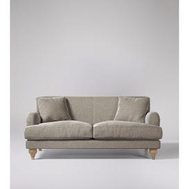 image-Swoon Chorley Two-Seater Sofa in Llama Smart Wool With Short Light Feet