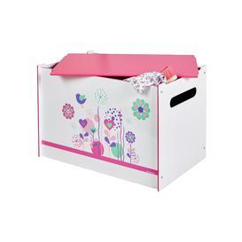image-Flowers & Birds Toy Box