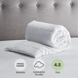 image-Fogarty Anti Allergy 4.5 Tog Duvet White