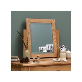 image-Appleby Oak Dressing Table Mirror