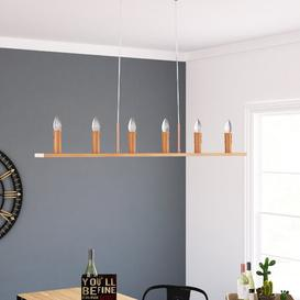 image-Elyse 6-Light LED Kitchen Island Pendant Williston Forge