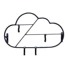 image-Cloud Wall Mounted Coat Rack Art for kids