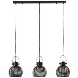 image-Acevedo 3-Light Kitchen Island Pendant Corrigan Studio Colour: Black