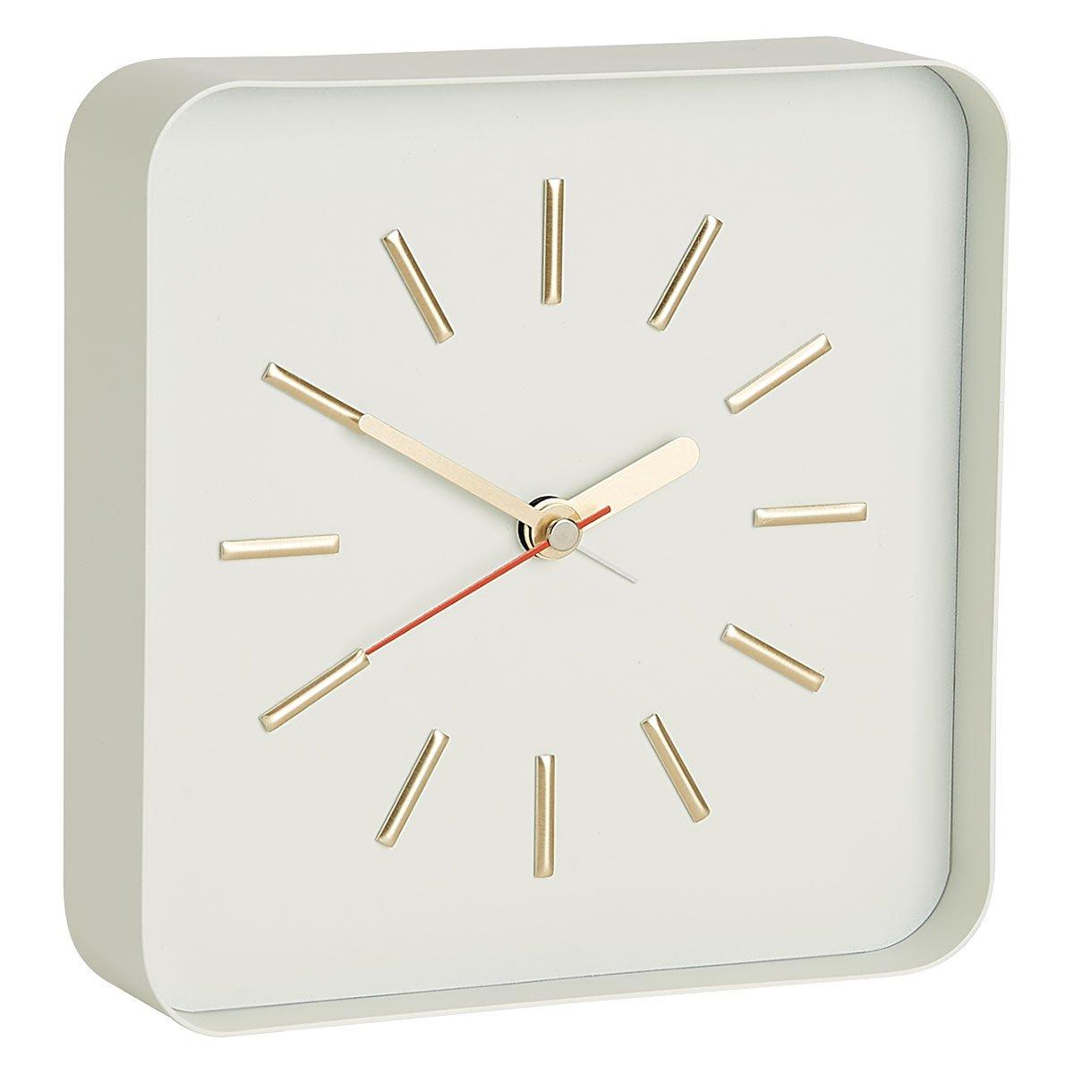 image-Lester White Alarm Clock, White