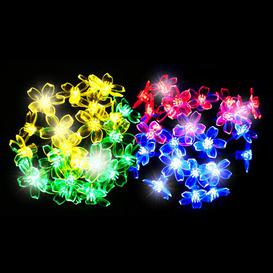 image-50 Multicolour LED Blossom Solar Fairy Lights OE Lights