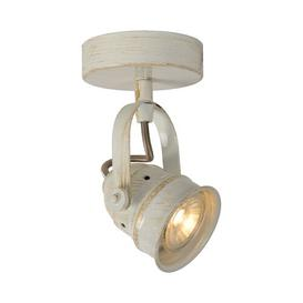 image-Cigal 1-Light Ceiling Spotlight Lucide Shade colour: White