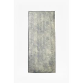 image-Antique Mist Long Wall Mirror - black