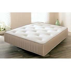 image-Fletching Touch Memory Natural Open Coil Mattress Symple Stuff Size: Single (3')