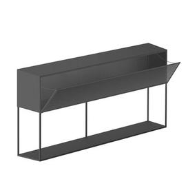 image-Tristano Dresser - / With LED lighting  - L 150 x H 82 cm by Zeus Grey