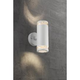 image-Birk 1-Light Up and Downlight Nordlux Finish: White