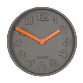 image-Zuiver Clock Concrete Time Orange - Outlet