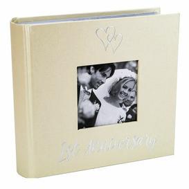image-1st Wedding Anniversary Photo Album The Party Aisle