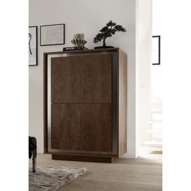 image-Sky (Oak) 4 door bar unit
