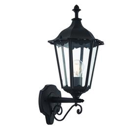 image-Bowie dimmable outdoor wall lantern in black, IP44 - 90116.