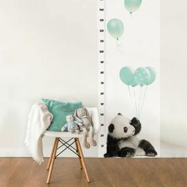 image-Panda Growth Chart Decal EUDekornik Colour: Mint