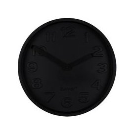 image-Zuiver Clock Concrete Time All Black