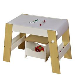 image-Mayberry Children's 2 Piece Arts and Crafts Table and Stool Set Isabelle & Max