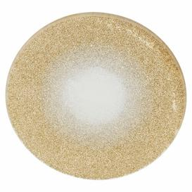 image-Decorative Plate Symple Stuff Size: 0.4cm H x 10cm W x 10cm D, Colour: Gold