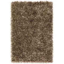 image-Asiatic Carpets Metallica Hand Woven Rug Gunmetal - 70 x 140cm
