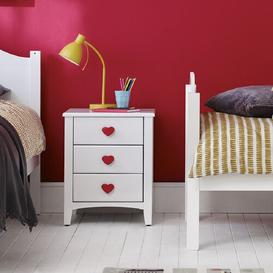 image-Holly 3 Drawer Bedside Table The Children's Furniture Company