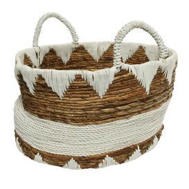 image-Large Rattan Basket