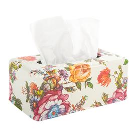 image-MacKenzie-Childs - Flower Market Tissue Box Cover
