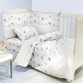image-Friends Toddler Bedding Set Guy Laroche Paris Colour: Light Blue