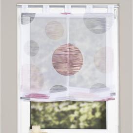 image-Paquette Roman Blind Mercury Row Size: 140cm L x 80cm W, Colour/Finish: Pink