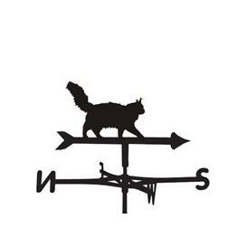 image-Maincoon Cat Weathervane  - Medium (Cottage)
