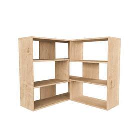 image-Corner Bookcase Symple Stuff