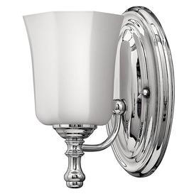 image-HK/SHELLY1 BATH Shelly1 Light Bathroom Wall Light In Polished Chrome