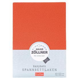 image-Fitted Cot Sheet Julius Z├╢llner Colour: Orange