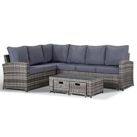 image-Geiser 8 Seater Rattan Corner Sofa Set Dakota Fields