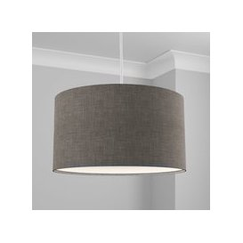 image-Made to Order 50cm Cylinder Shade Linoso Steel