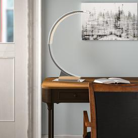 image-Bolinger LED 60cm Arched Table Lamp Wade Logan
