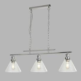 image-Annmarie 3 - Light Kitchen Island Pendant Zipcode Design Finish: Chrome