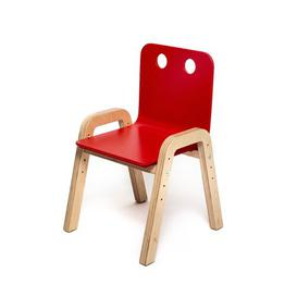 image-Luella Children's Chair (Set of 10) Isabelle & Max Colour: Red