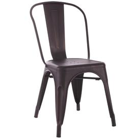 image-Dining Chair Williston Forge Colour: Black